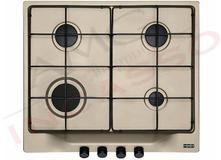 Piano Cottura Cucina Plano 4 Fuochi Gas cm.60 Griglie in Ghisa Avena ...
