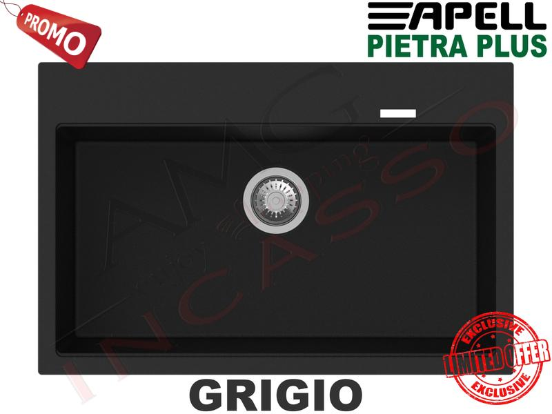 Forni Lavello Fragranite Incasso New Pietra Plus 1 Vasca ...