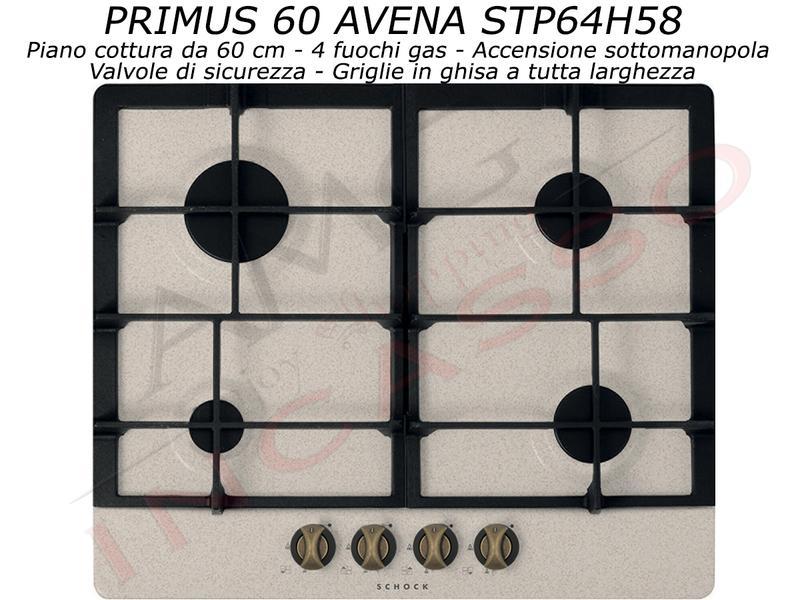 Offerta Promozionale!!! Piano Cottura Cucina Primus cm.60 4 Fuochi ...