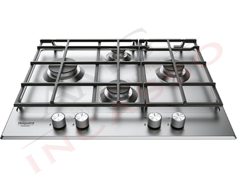 Piano Cottura Cucina 4 Fuochi Gas cm.65 Acciaio Inox | AMG incasso ...