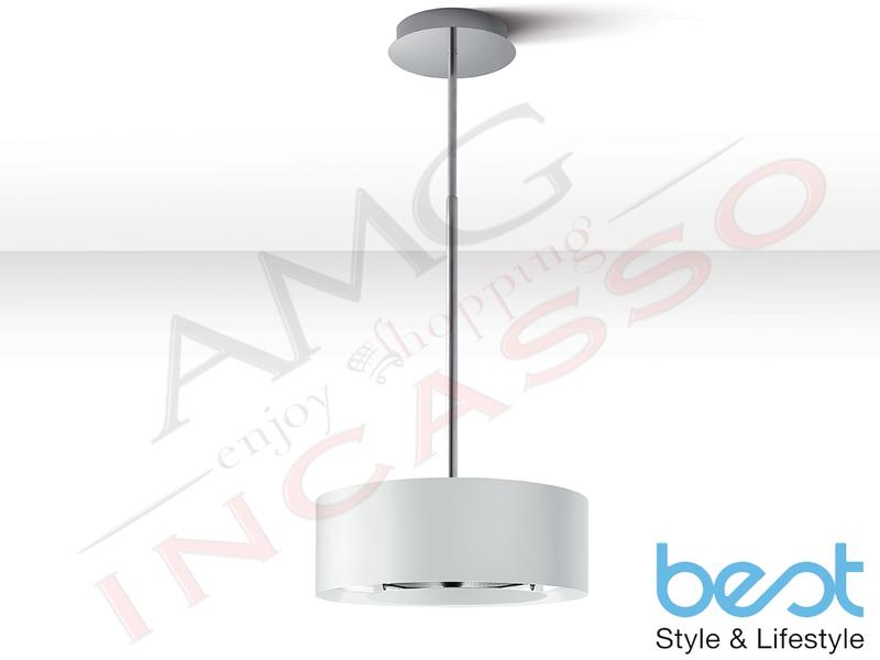Cappa Isola - Soffitto Best Electrolux Moon Bianco 07F23000A Ø 50