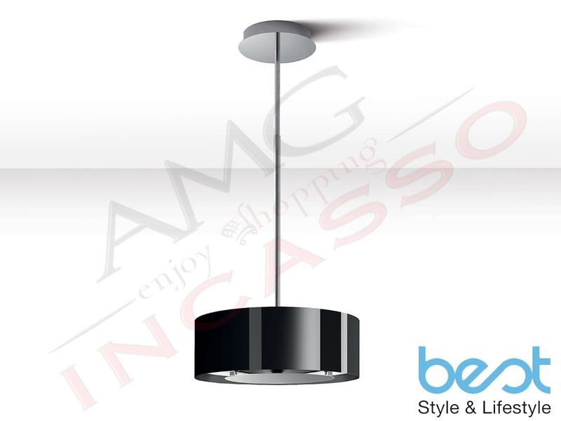 Cappa Isola - Soffitto Best Electrolux Moon Nero 07F23002A Ø 50