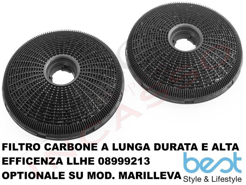Cappa Cucina Parete MARILLEVA NERA 90 07045135A da 420 m³ h Nero ... 0349f1700ee4