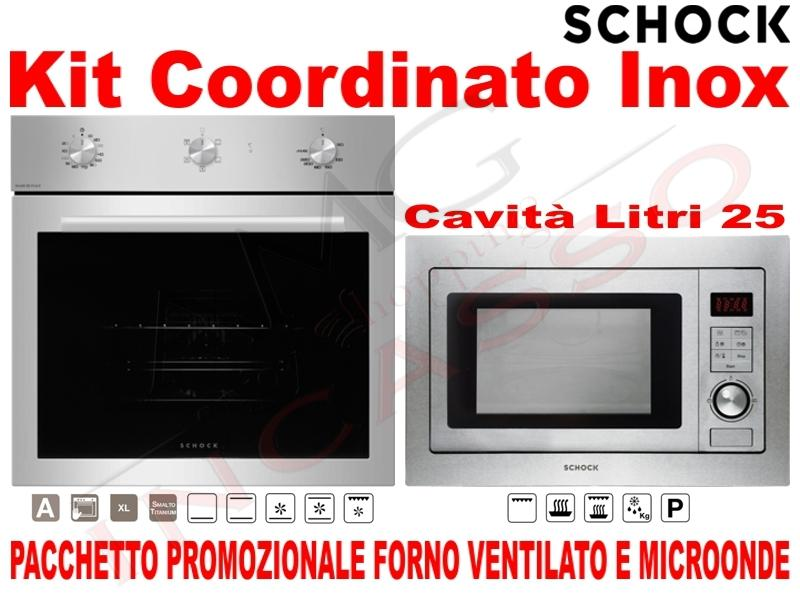 Pacchetto Acciaio: Forno Ventilato • Microonde 25 Litri | AMG ...