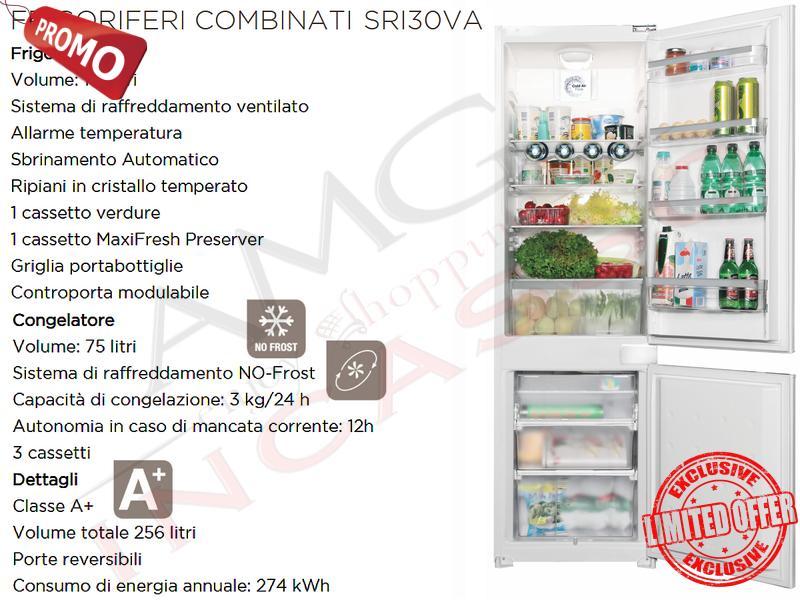 Offerta Promozionale!!! Frigorifero Combinato Schock SRI30VA ...