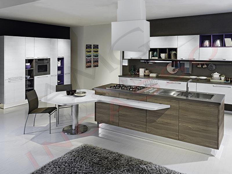 Cappa Cucina ad Isola Moderna 75 TD319AL Sintesi Island Alluminio ...