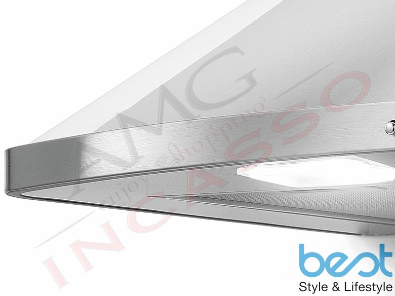 AMG incasso elettrodomestici da incasso | Cappa Cucina Parete AMIATA XS 60  07039026A da 435 m³/h Inox
