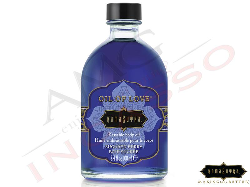 Olio Baciabile Oil of Love® olio corpo Aromatizzato Sugared Berry 100 ml