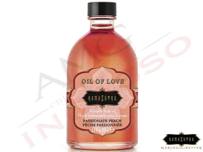 Olio Baciabile Oil of Love® olio corpo Aromatizzato Passionat Peach 100 ml