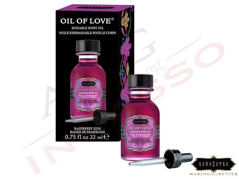Olio Baciabile Oil of Love® olio corpo Aromatizzato Rapsberry Kiss 22 ml