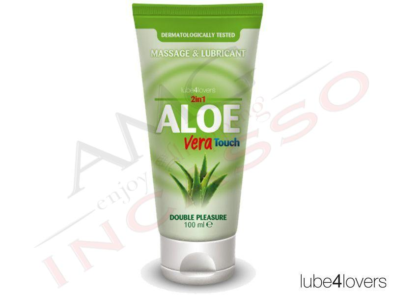 Lubrificante Intimo e Massaggio 2 In 1 Aloe Vera Touch Gel