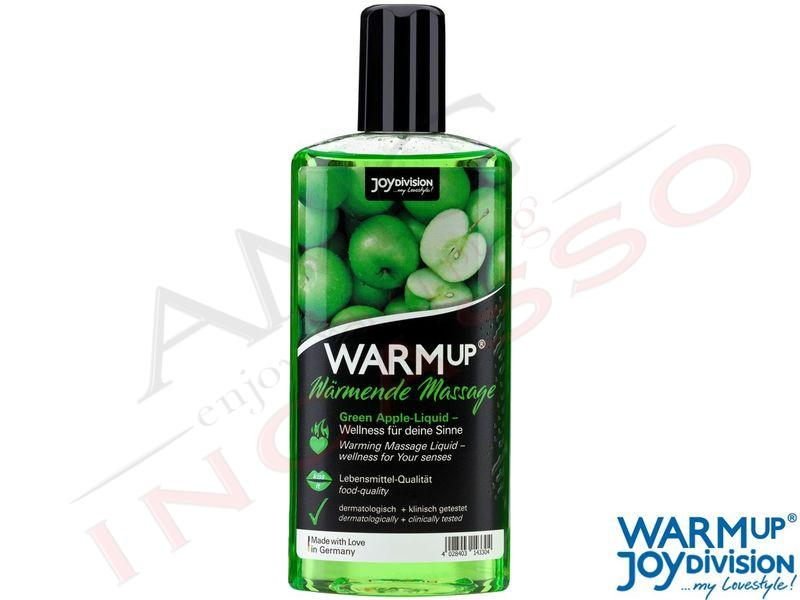 Olio Massaggio Commestibile WarmUp Mela Verde ml.150
