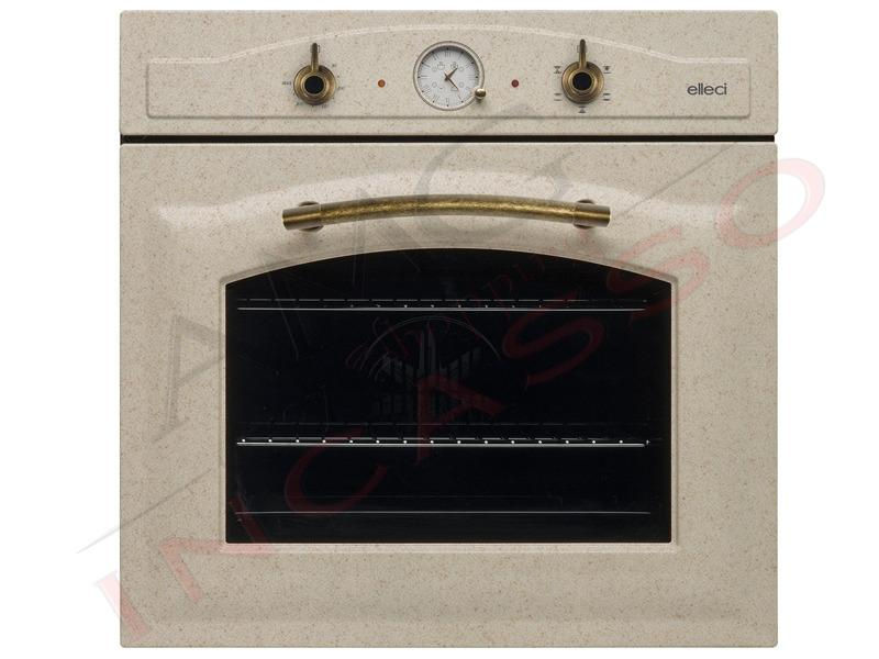 Forno Elleci Bombè FGSB60251NY incasso cucina Rustico Granitek 51 ...