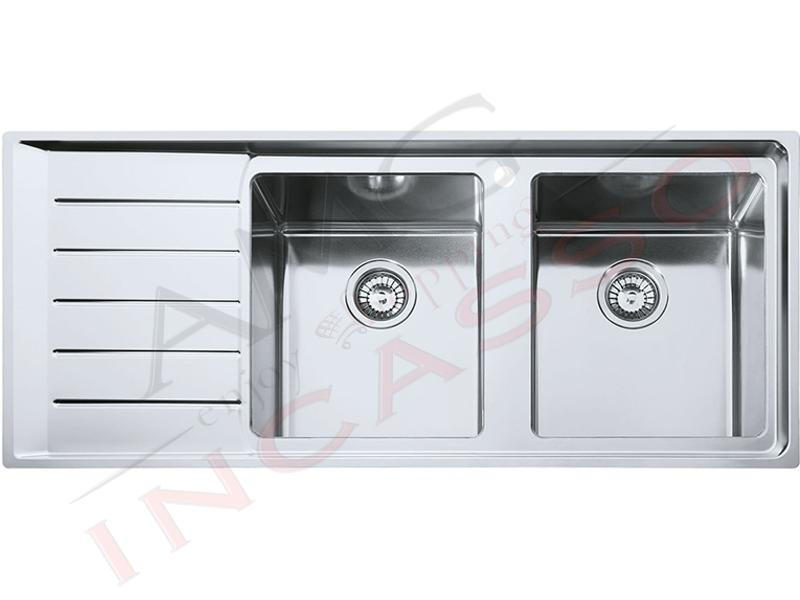 Lavello franke neptune plus npx 621 85863367 116x50 2 vasche d incasso cucina - Lavandini x cucina ...