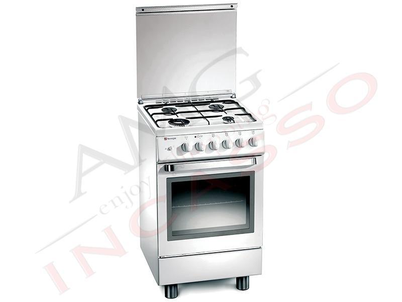 Cucina Accosto Tecnogas Linea Ark D12ws 50x50 4 Fuochi