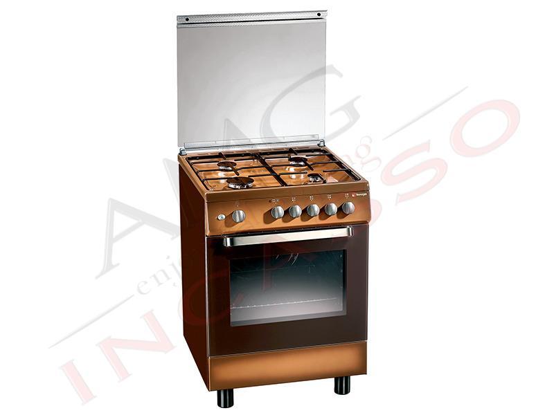 Cucina accosto tecnogas linea ark d52ncs 60x50 4 piastre - Piastre elettriche da incasso ...
