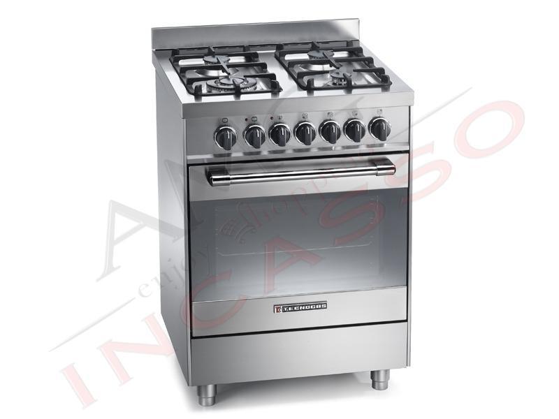 cucina accosto linea pro ptv662xs 60x60 libero accosto inox - amg ... - Cucina Elettrodomestico
