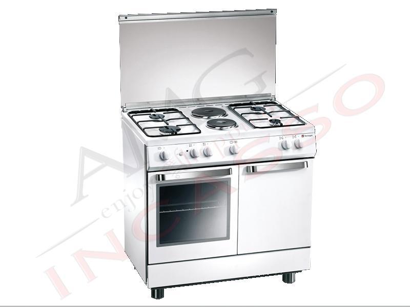 Cucina accosto tecnogas linea ark d923ws 90x60 porta - Piastre elettriche da incasso ...