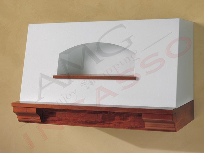 Cappa Bauletto G Cm.120 a parete COMPRESA cornice legno grezza ...