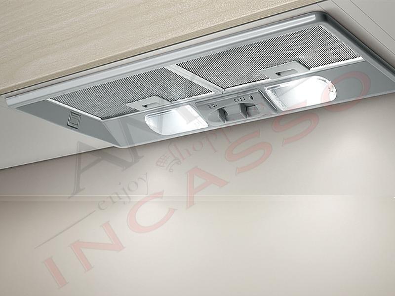 Cappa gruppo incasso elibloc 9 lx silver f 60 1745563 3 cm - Cappa incasso 60 ...