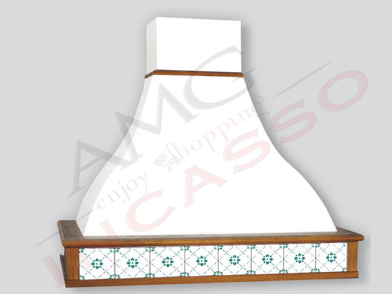 Cappa Tecnodesign Corinto Cm.90 COMPRESA cornice legno Verniciata ...