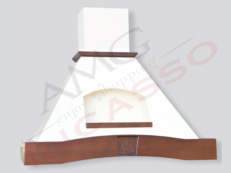 Cappa cucina parete rustica nicchia lucrezia 60 cornice for Nicchia sinonimo