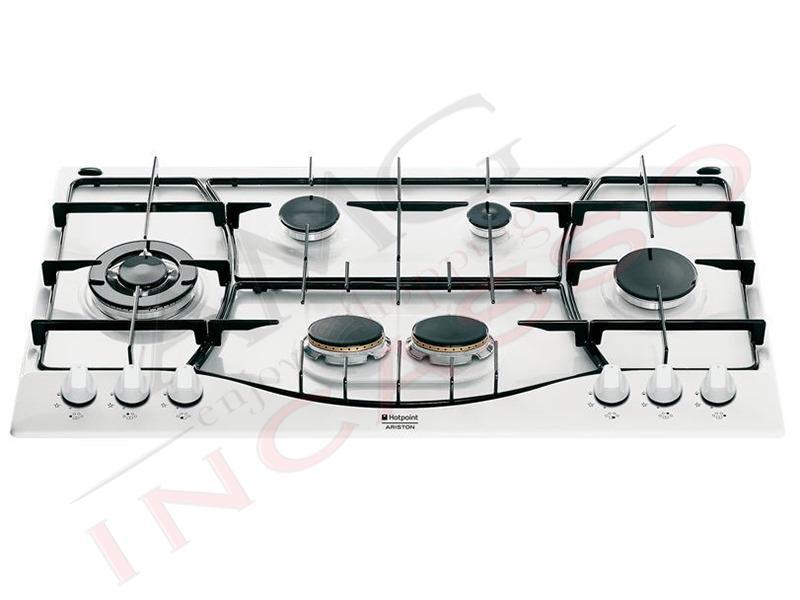 piano cottura 90 ph 960 mst (wh)/ha f070697 6 fuochi bianco - amg ... - Cucina Ariston 4 Fuochi