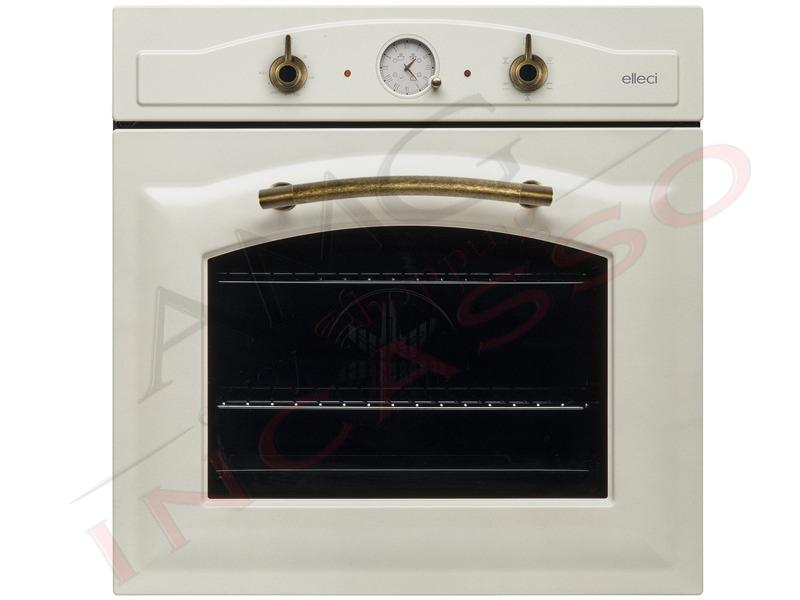 Forno Elleci Bombèi FGSB60262NY incasso cucina Rustico Granitek 62 ...