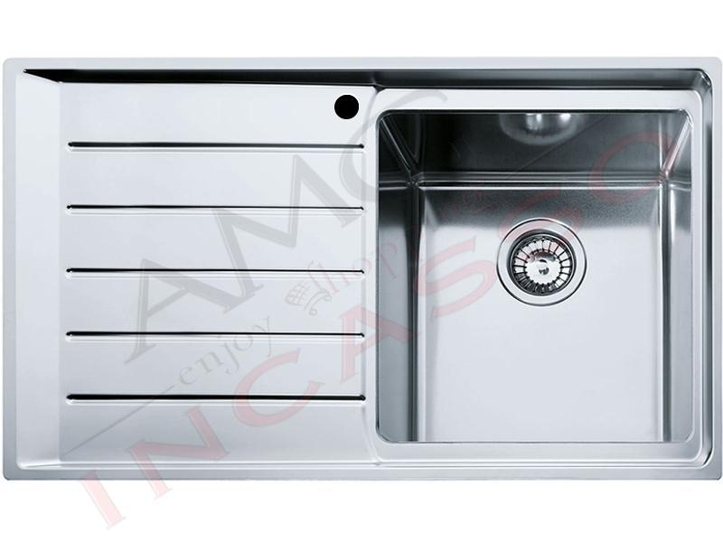 Lavello Franke Neptune Plus - NPX 611 85863302 86X50 1 V. Sx incasso ...