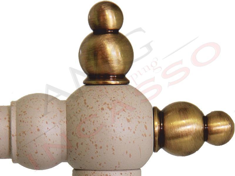 Miscelatore ITALIANO Argo 2471VB//LC59U Antracite//Ottone antico Rustico Antico