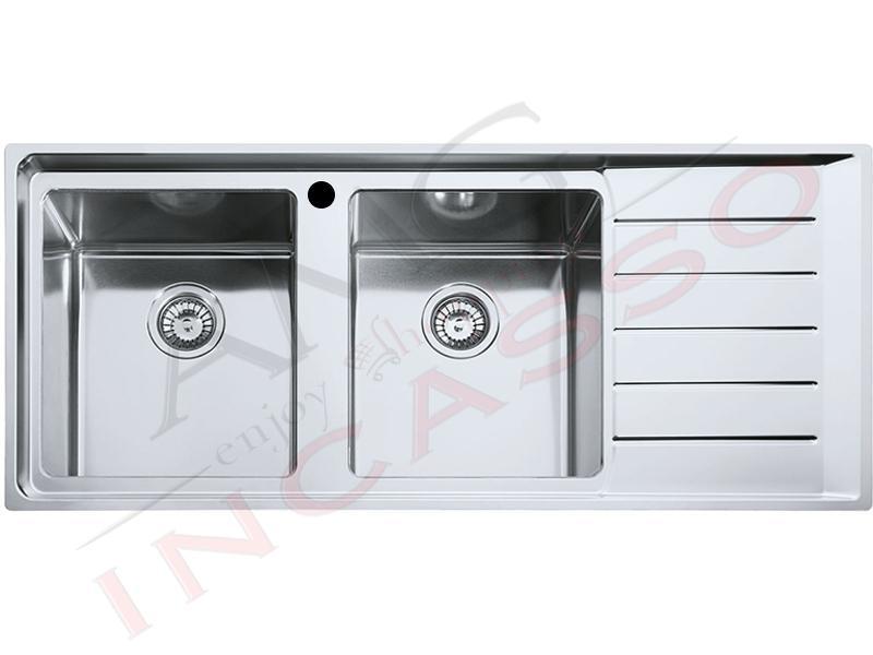 Lavello Franke Neptune Plus Npx 621 85863362 116x50 2 Vasche S Incasso Cucina Ebay