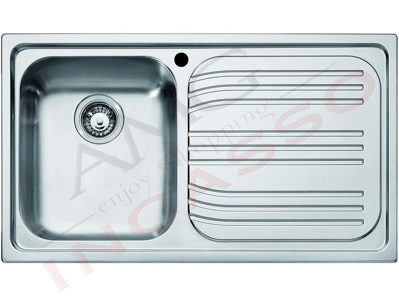 Lavello Franke Radar RRX 611 85862902 86X50 1 Vasca Sx saldata incasso cucina  eBay