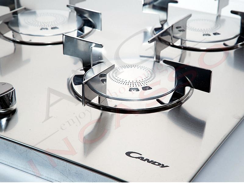 Piano cottura Candy Cm.75 CFX74 33801418 Cm.75 4 fuochi Elite ...