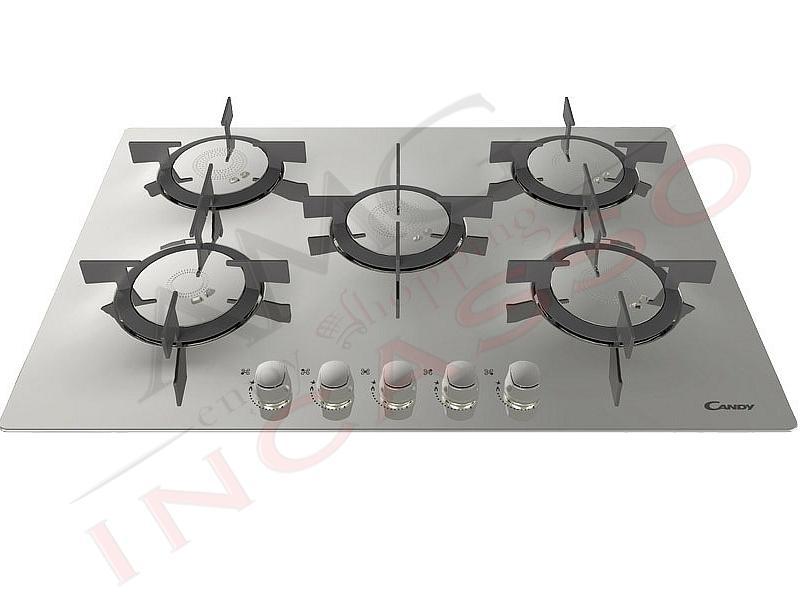 Piano cottura candy cfx75p 33801416 5 fuochi - Valvola sicurezza piano cottura ...