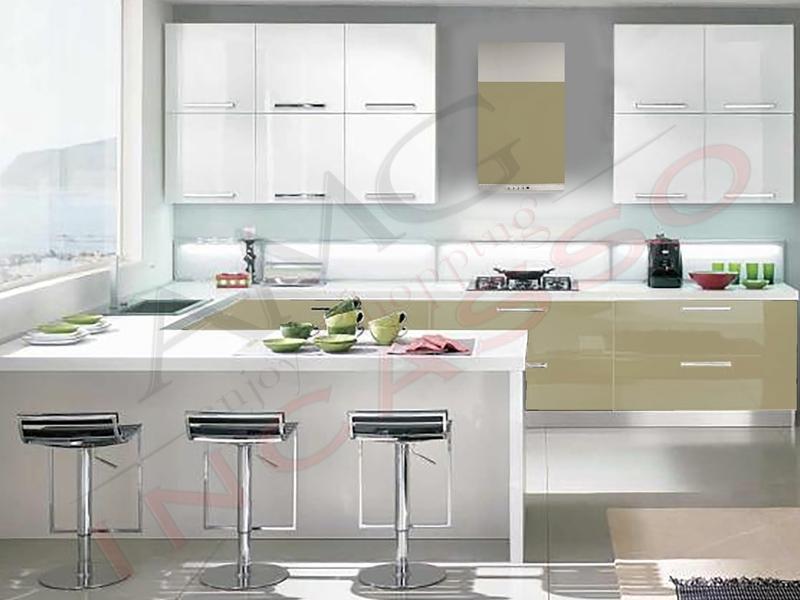 Portaposate inoxa 98t 90 pvc grigio rifilabile per - Portaposate per cassetti ...