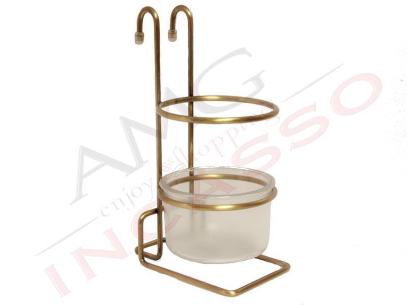 Sottopensile Rame Antico Inoxa 800-213R portaposate multiuso incasso cucina