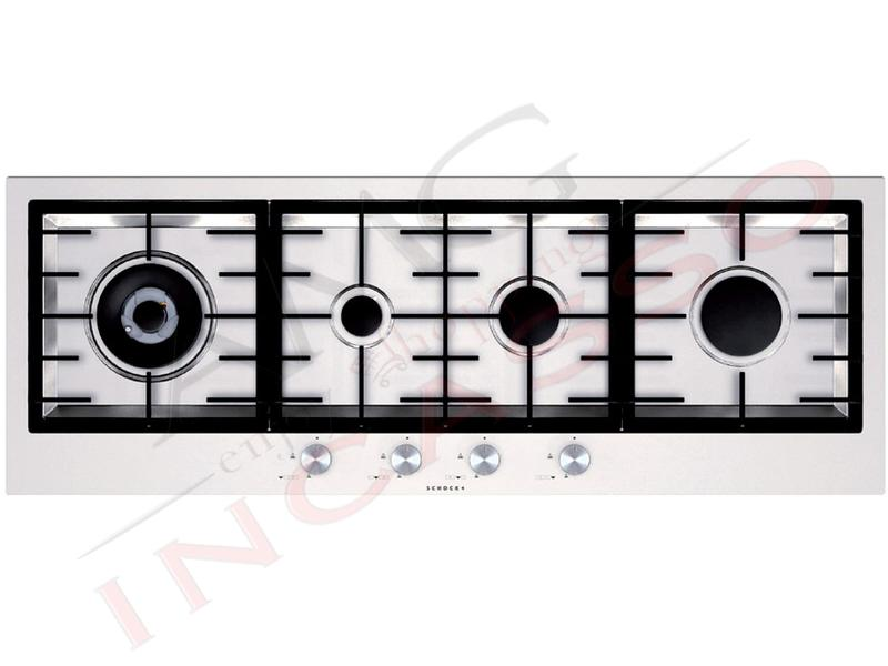 Piano Cottura In Linea : Piano cottura schock cm stf hix pc avg fuochi