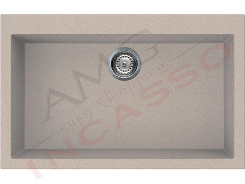 Kit Avena: Lavello 79X50 1V LGQ13051 + Miscelatore MGKC0151 + Piano ...