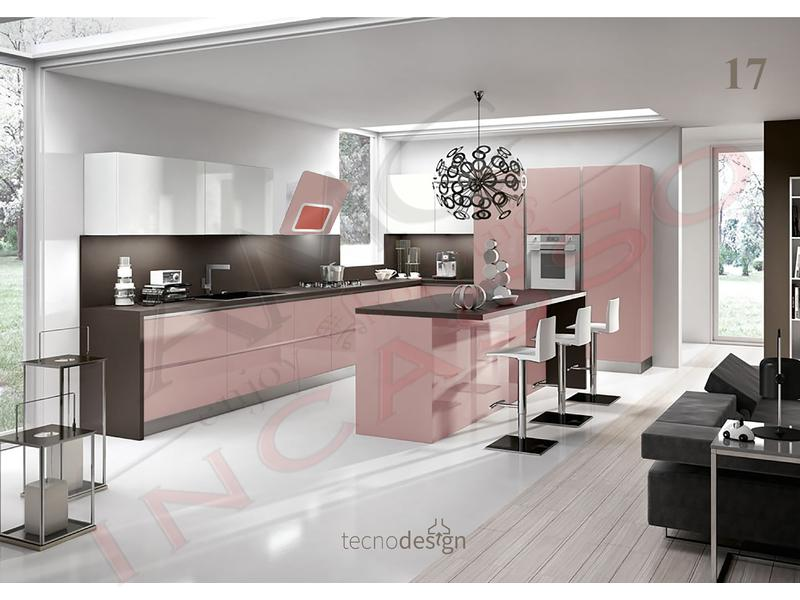 Cucine Moderne Glicine.Cappa Cucina Moderna 80 Td018gl Grace Plus Inox Vetro