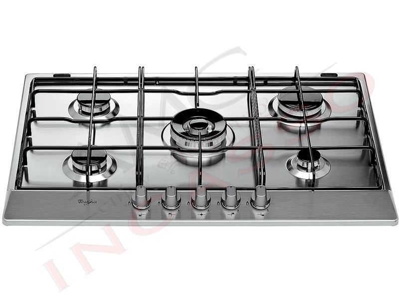 Piano cottura 75 whirlpool linea square akr 357 ix - Valvola sicurezza piano cottura ...
