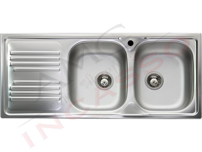 Lavello Cucina 2 Vasche Senza Gocciolatoio.Amg Incasso Elettrodomestici Da Incasso Amg Incasso