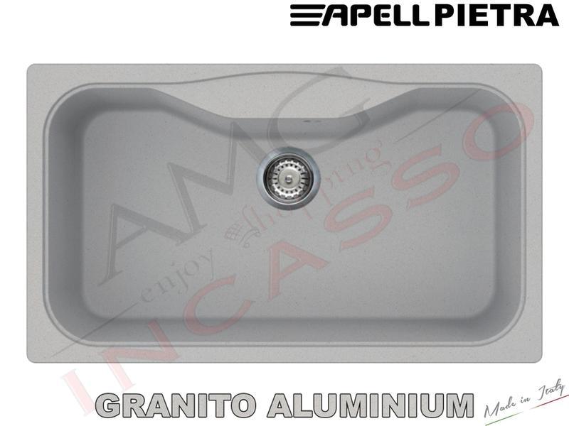 Lavello Cucina 1 Vasca / Vascone cm.86X50 Pietra Fragranite ...