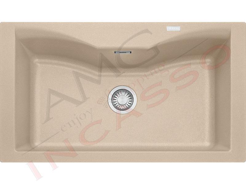 Lavello acquario line franke cg610 n avena 9899964 86 x50 1 vasca fragranite amg incasso - Vasca cucina fragranite ...