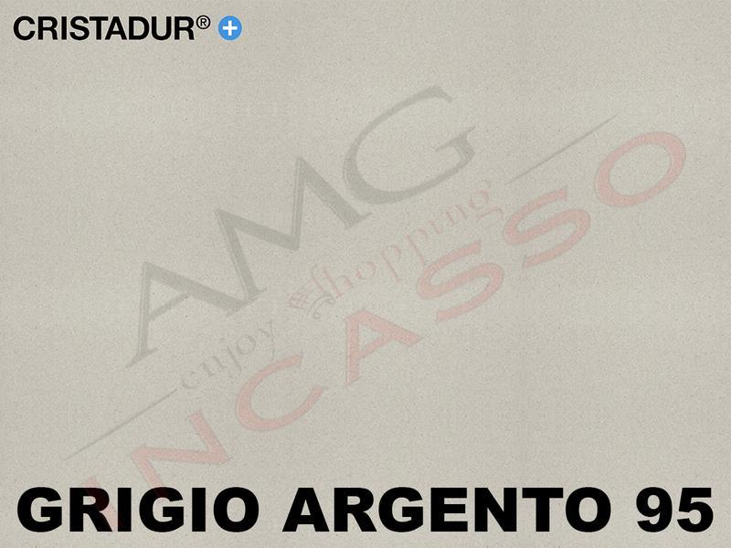 Lavello Cucina Largo Appoggio cm.90X62,8 1 Vasca Grigio Argento ...