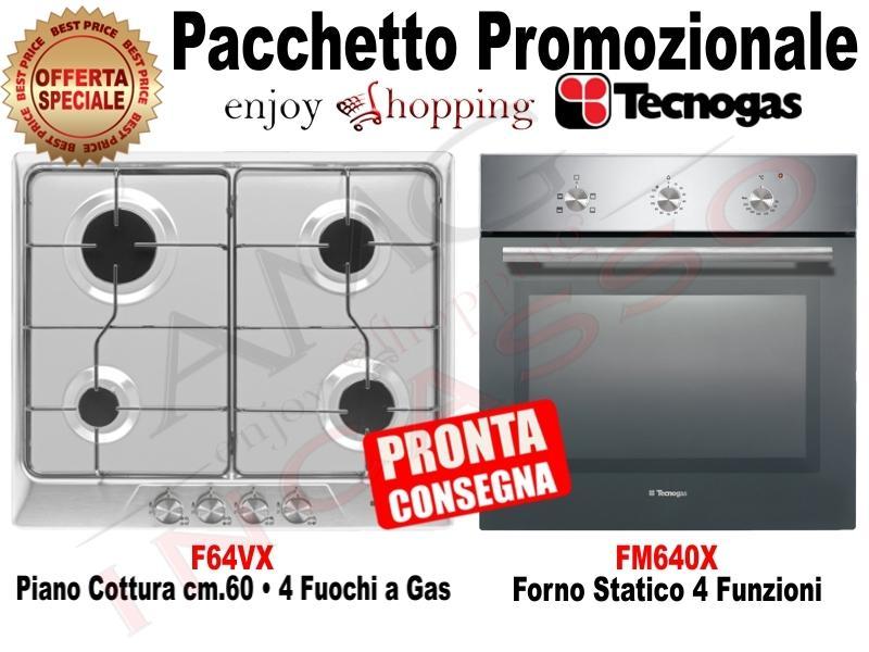 OFFERTA PROMOZIONALE!!! Pacchetto: Piano Cottura cm.60 Inox • Forno ...