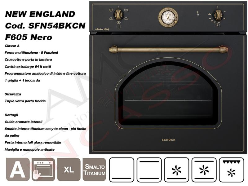 Offerta Promozionale!!! Forno Schock New England SFN54BKN 5 ...