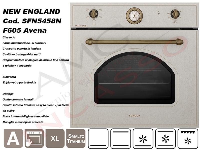 Offerta Promozionale!!! Forno Cucina New England SFN5458N cm ...