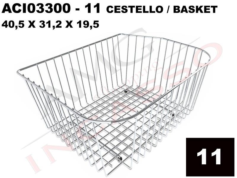 Accessorio 11 Lavello Elleci ACI03300 Cestello Acciaio Inox ...