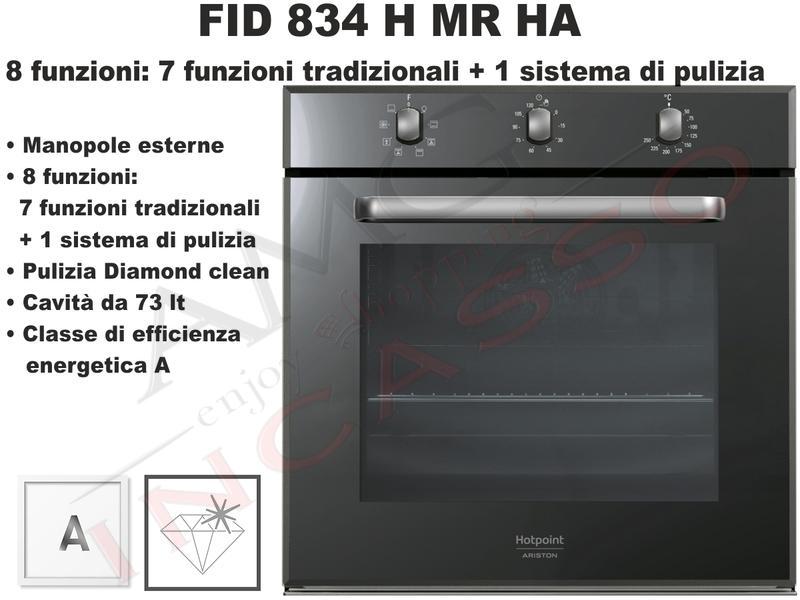 Forno Linea Diamond FID 834 H MR HA F102080 Classe A Vetro ...