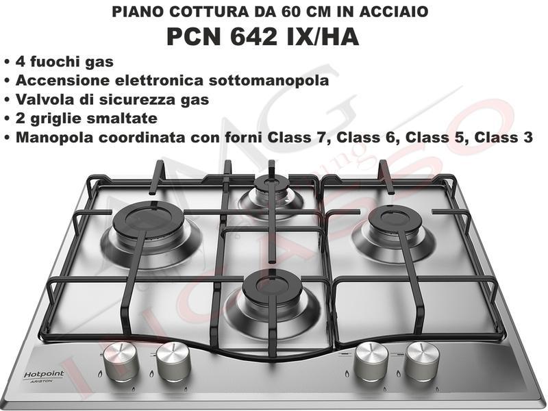 Piano Cottura Cucina cm.60 4 Fuochi Acciaio Inox - AMG incasso ...